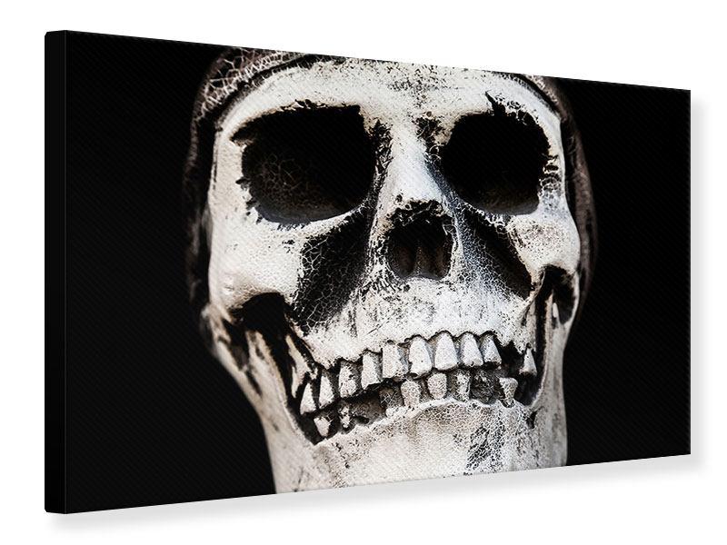 Leinwandbild Skull