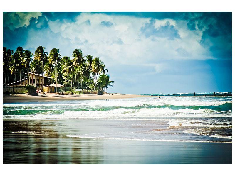 Leinwandbild The Beach