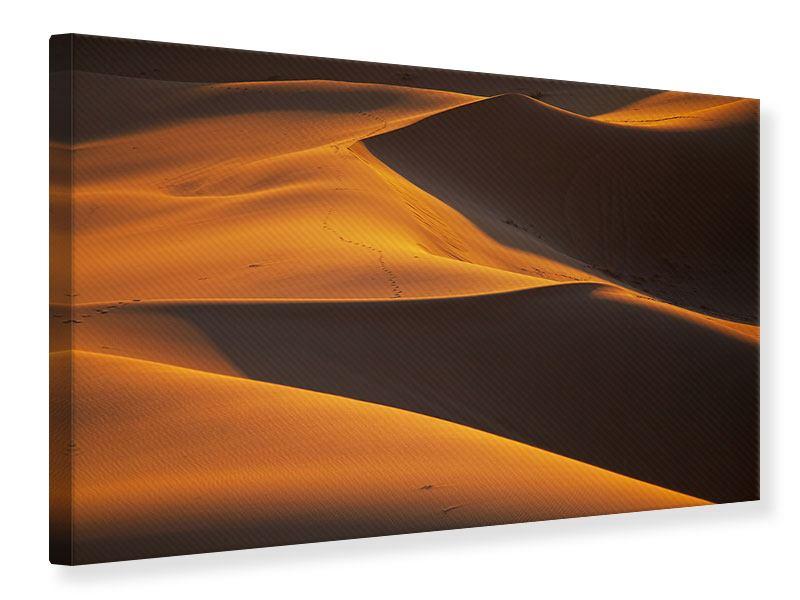 Leinwandbild Wüstensand