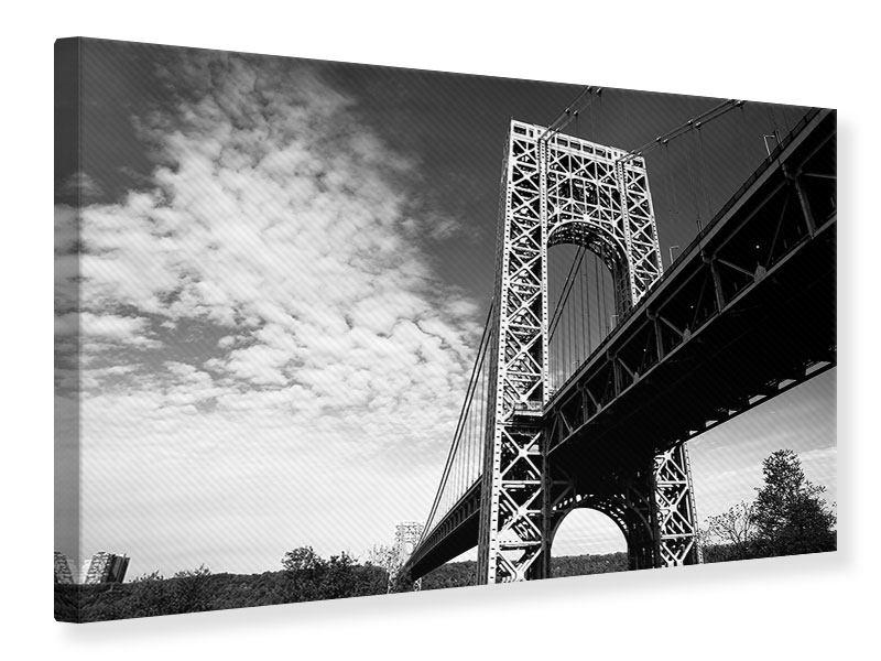 Leinwandbild Georg-Washington-Bridge