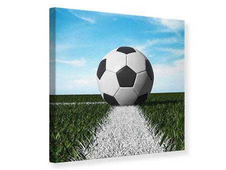 Leinwandbild Der Fussball