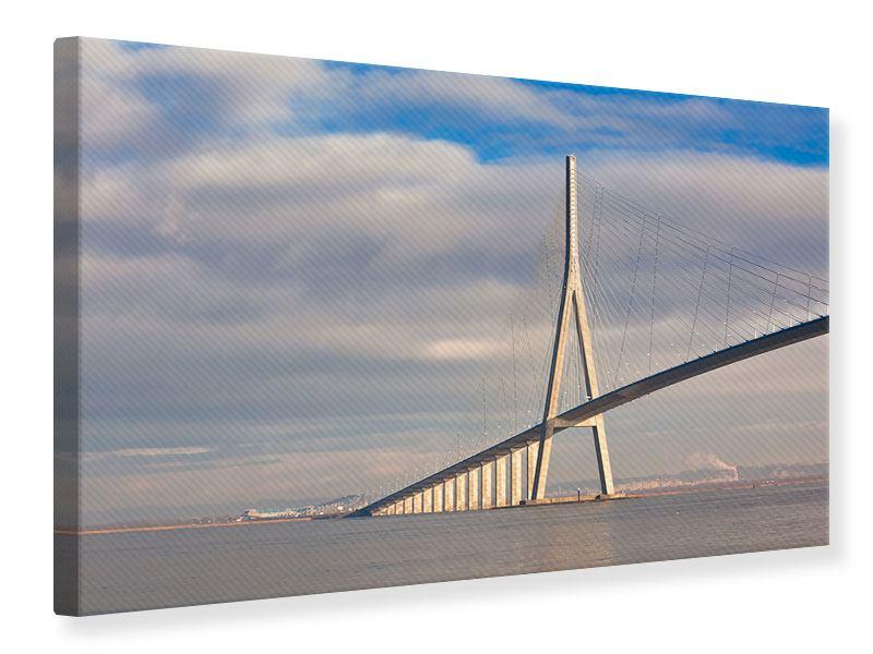 Leinwandbild Pont de Normandie