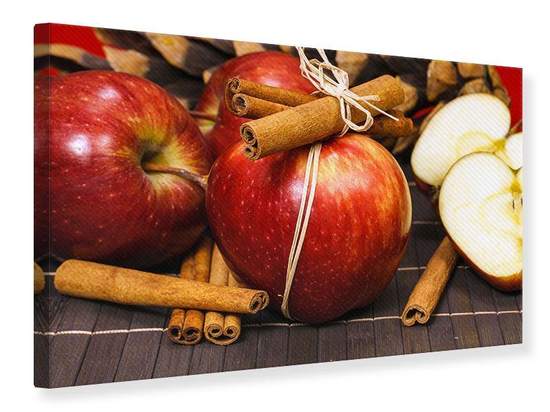 Leinwandbild Äpfel