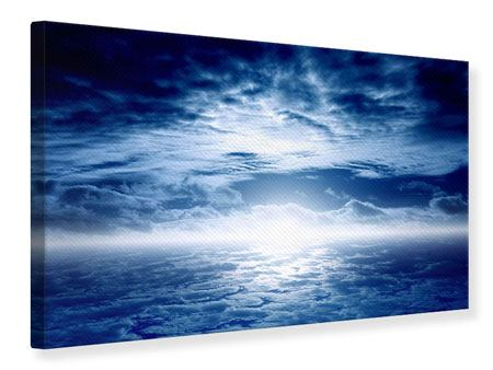 Leinwandbild Mystischer Himmel