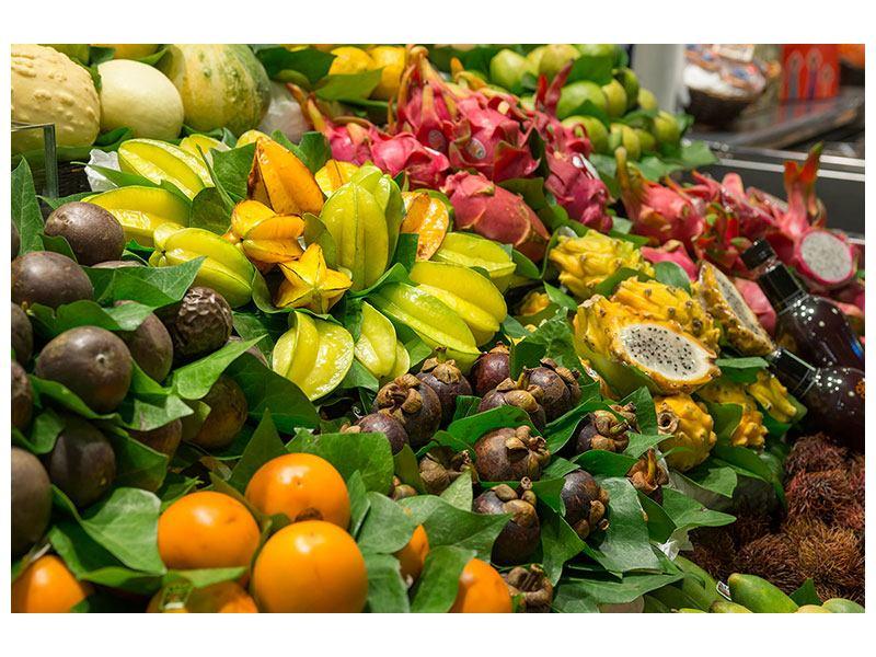 Leinwandbild Früchte