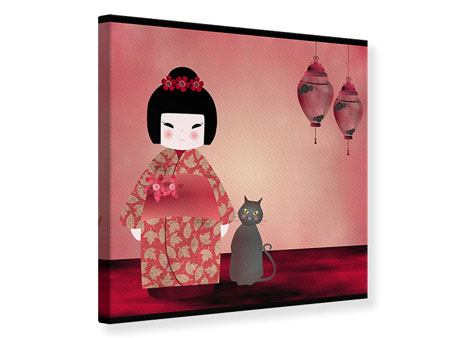 Leinwandbild Chinese Girl