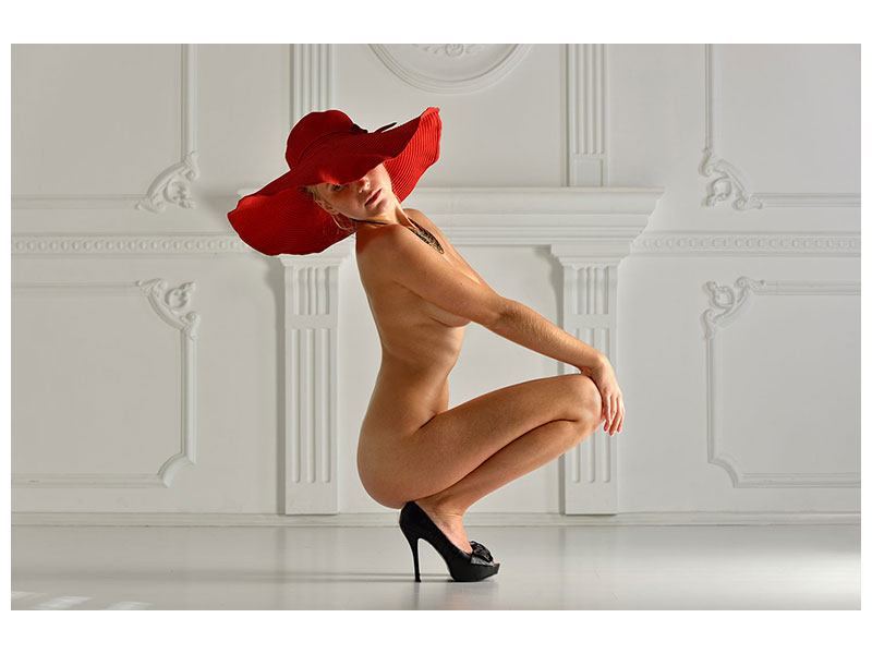Leinwandbild Nude-Diva