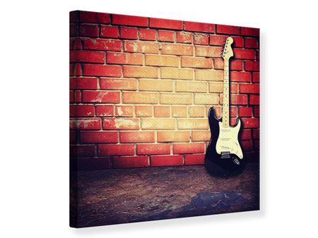 Leinwandbild E-Gitarre