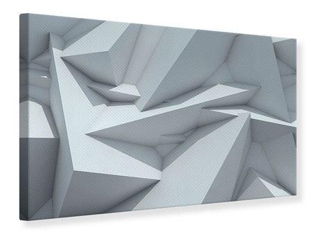 Leinwandbild 3D-Kristallo