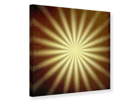 Leinwandbild Abstrakte Sonnenstrahlen