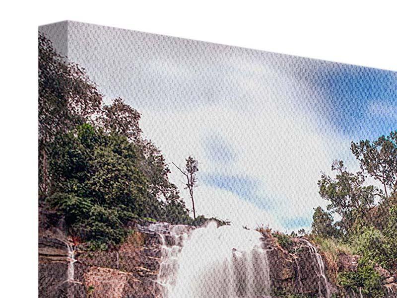 Leinwandbild Wasserfall in Thailand