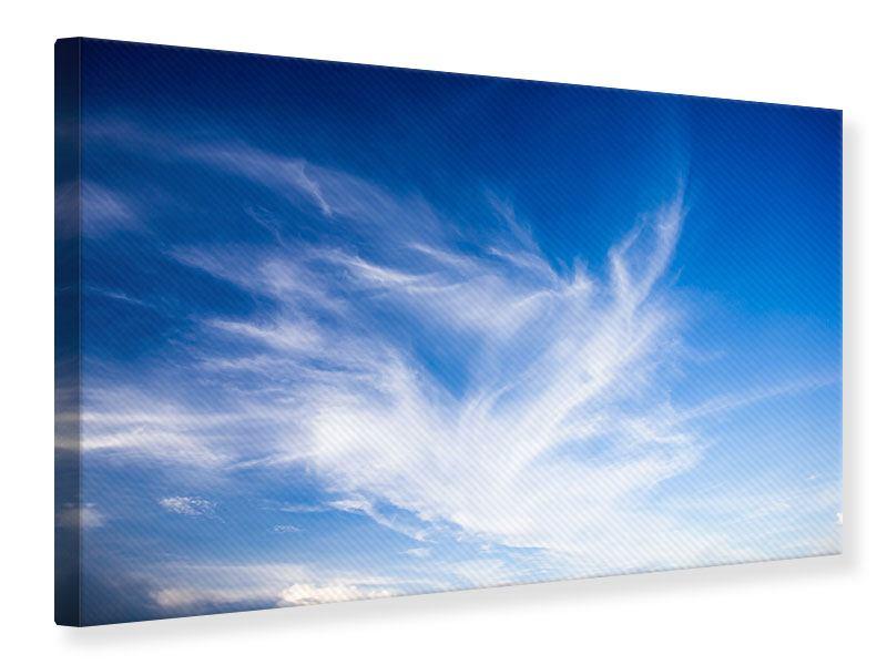 Leinwandbild Schleierwolken