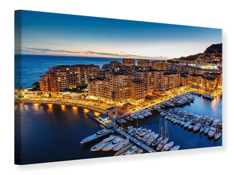Leinwandbild Monaco