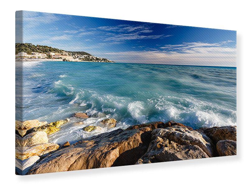Leinwandbild Cote D`Azur