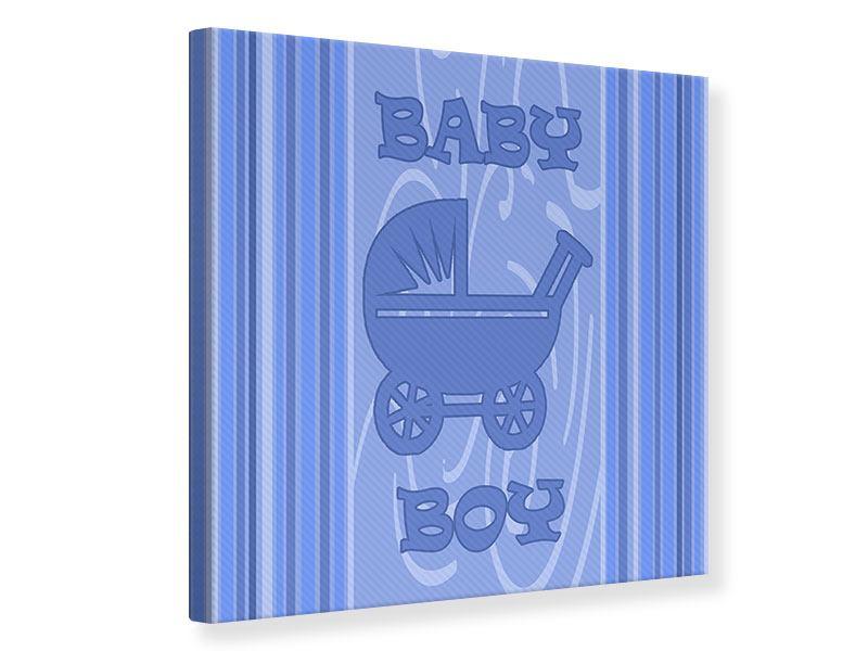 Leinwandbild Baby-Boy