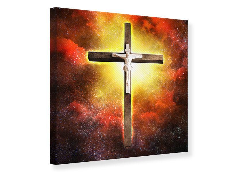 Leinwandbild Heiliges Kreuz