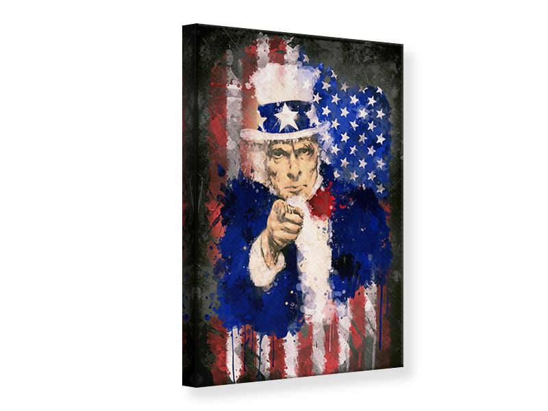 Leinwandbild Uncle Sam