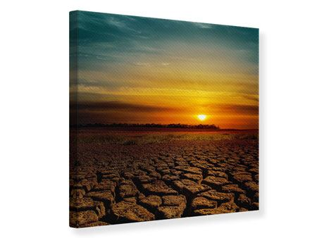 Leinwandbild Afrikas Dürre