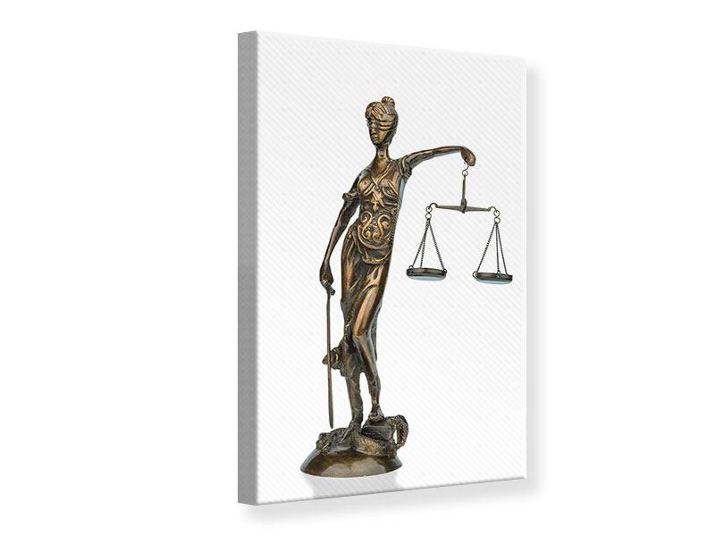 Leinwandbild Justitia