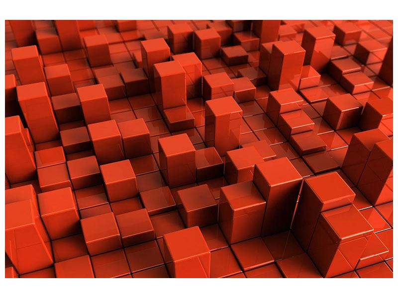 Leinwandbild 3D-Rechtkant
