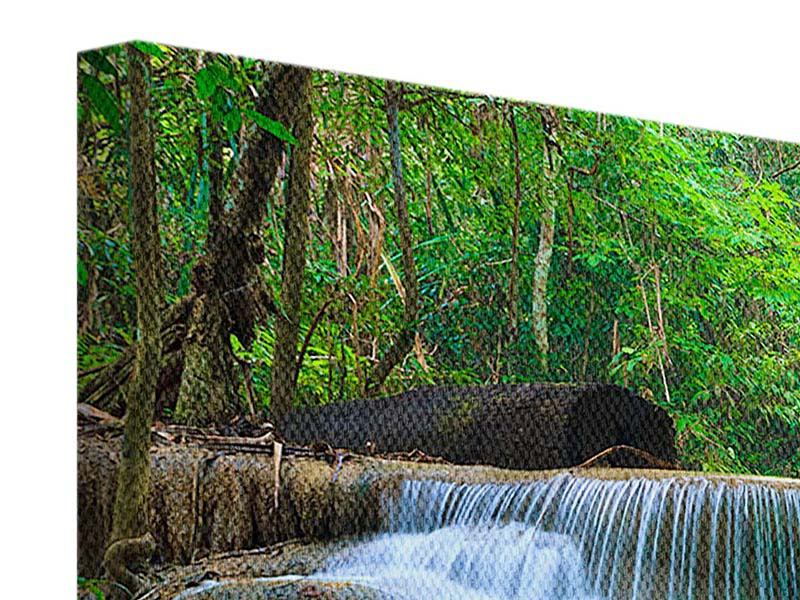 Leinwandbild Kaskaden Huay Mae Khamin