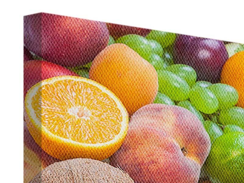 Leinwandbild Frische Früchte