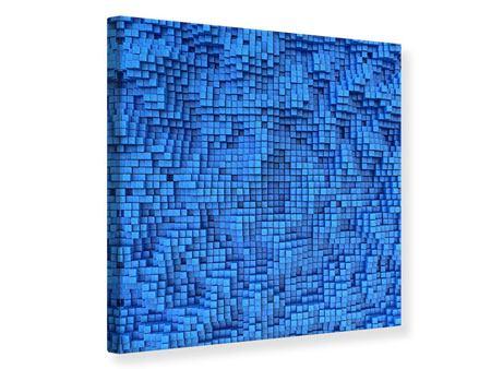 Leinwandbild 3D-Mosaik