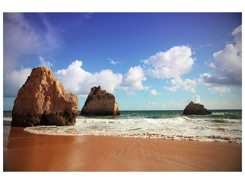 Leinwandbild Strandgedanken