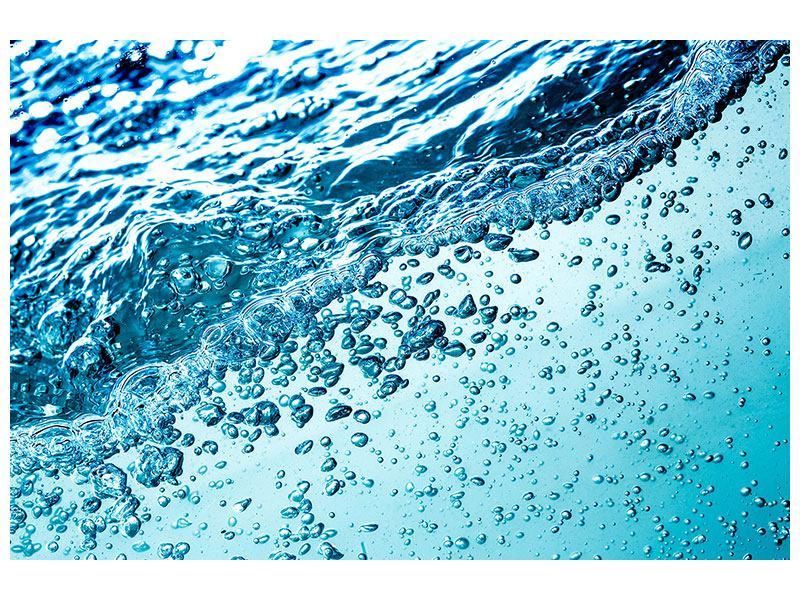 Leinwandbild Wasser in Bewegung