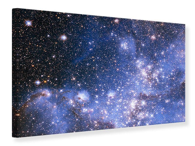 Leinwandbild Sternenhimmel