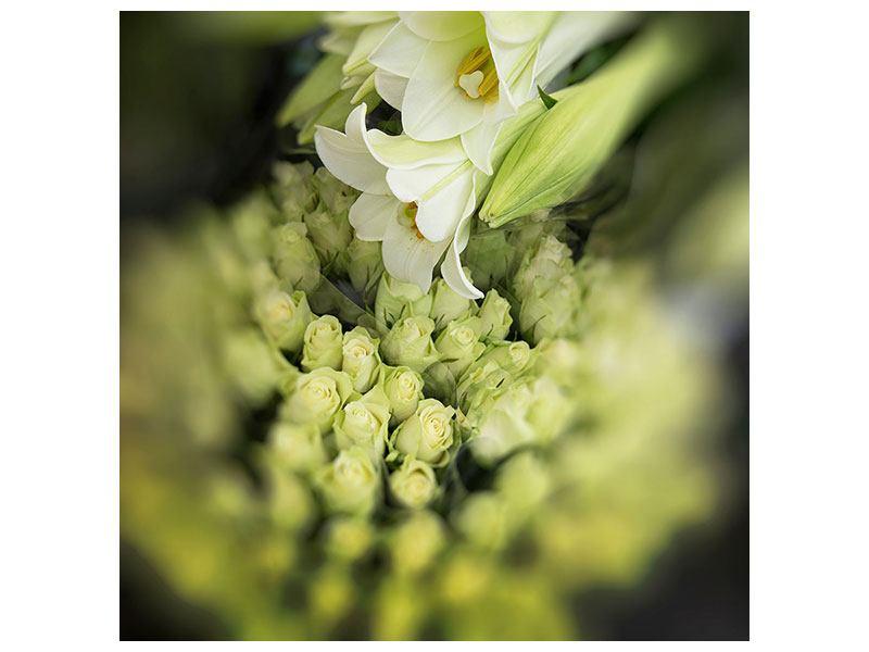 Leinwandbild Die Lilien und Friends