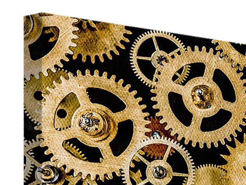 Leinwandbild Clockwork
