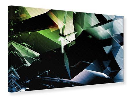 Leinwandbild 3D-Polygon