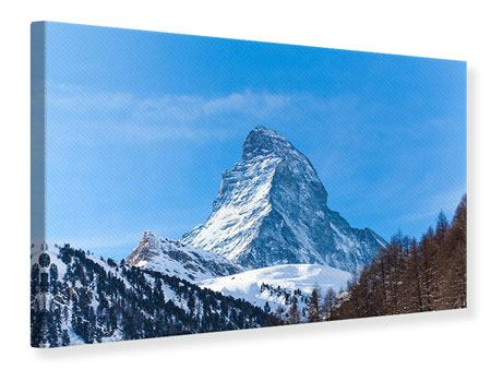 Leinwandbild Das majestätische Matterhorn