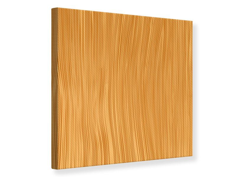 Leinwandbild Wooden