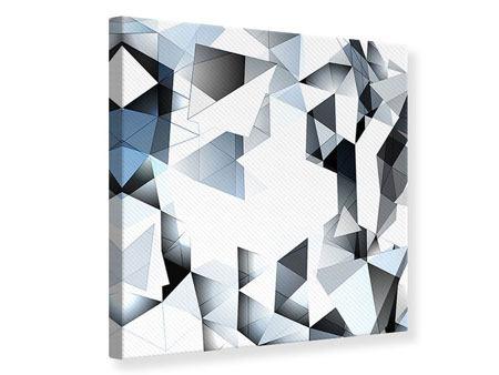 Leinwandbild 3D-Kristalle