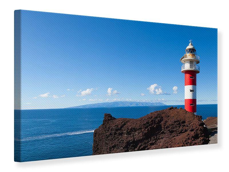Leinwandbild Leuchtturm in Punta Teno