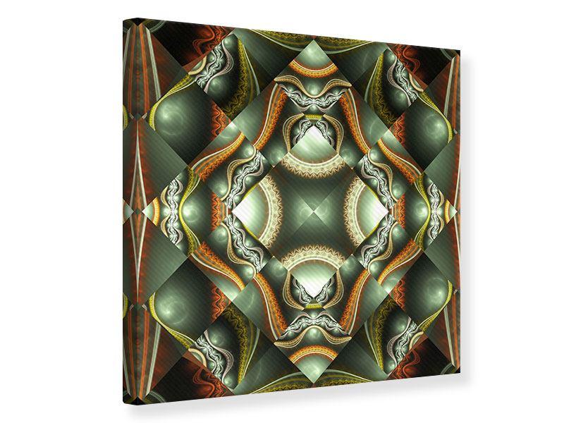 Leinwandbild Fraktales Bild