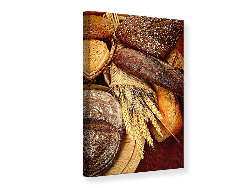 Leinwandbild Brote