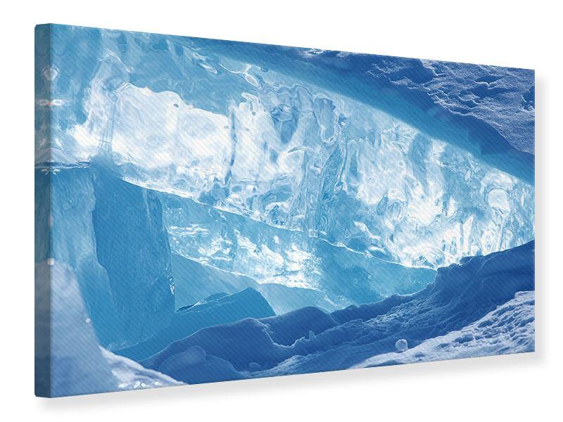 Leinwandbild Baikalsee-Eis