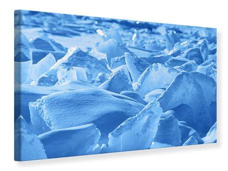 Leinwandbild Eis des Baikalsees