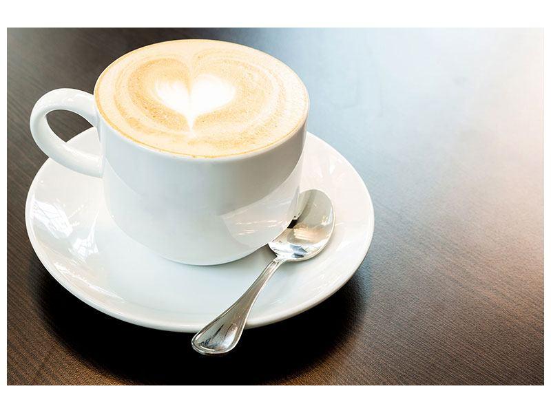 Leinwandbild Lieblingskaffee