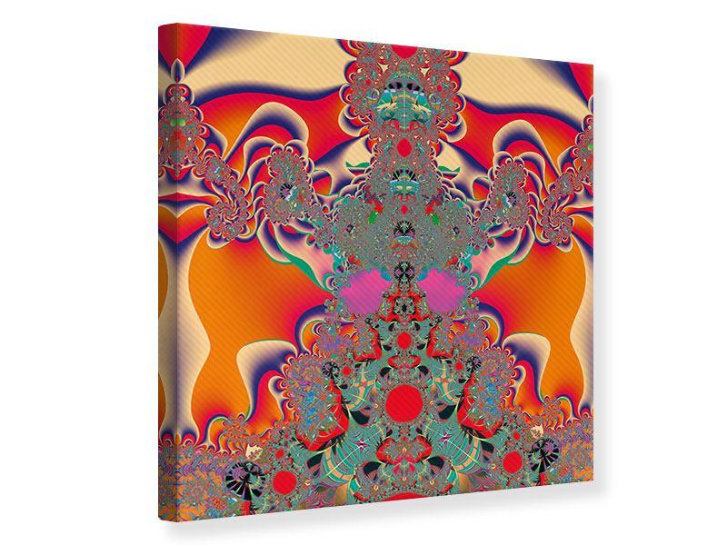 Leinwandbild Psychedelische Kunst