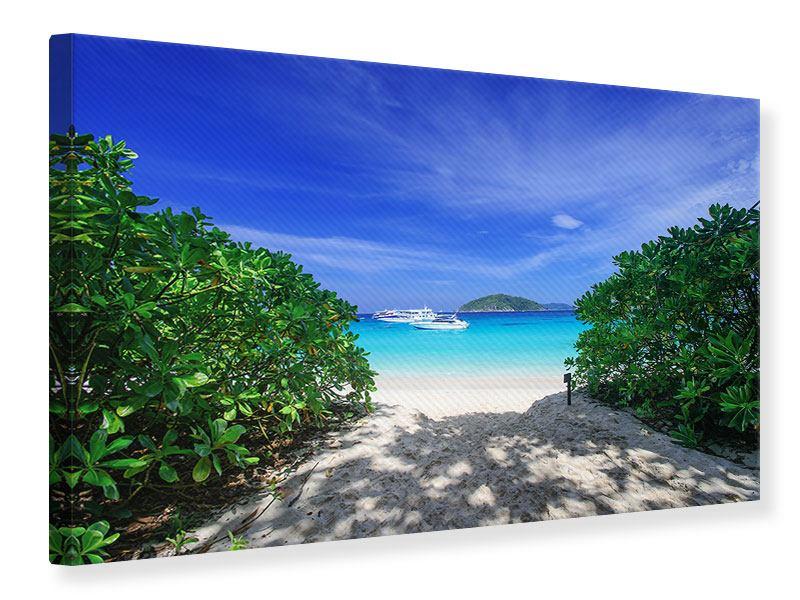 Leinwandbild Similan-Inseln