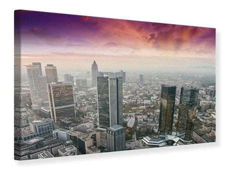 Leinwandbild Skyline Penthouse in New York
