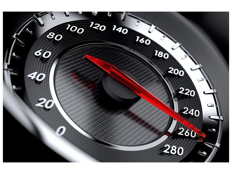 Leinwandbild Geschwindigkeit