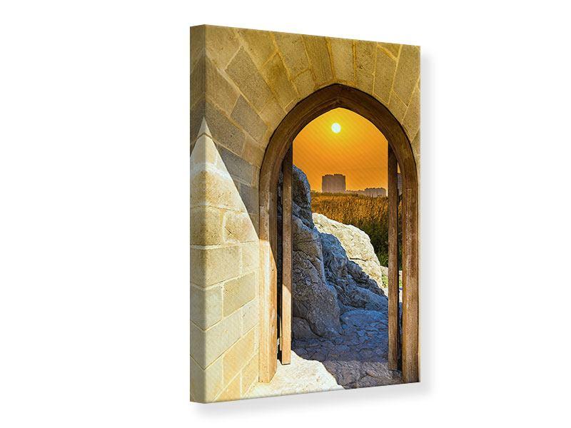 Leinwandbild Das Tor