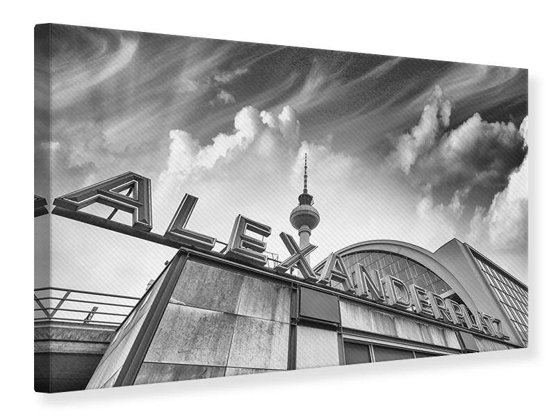 Leinwandbild Alexanderplatz
