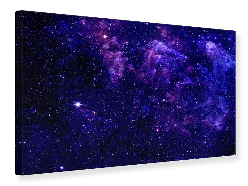 Leinwandbild Ein Himmel voll Sterne