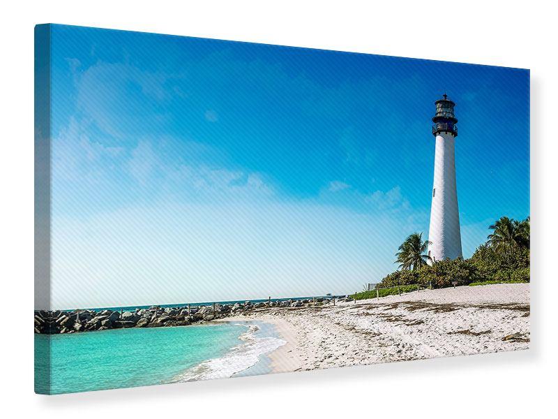 Leinwandbild Cape Florida Ligthhouse